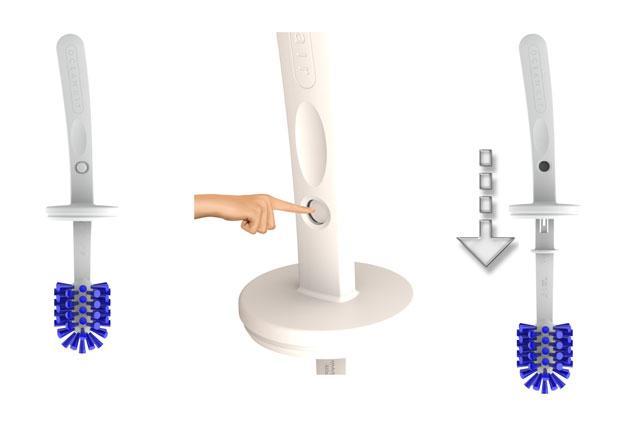 Toilet Brush Head : Oceanair on board toilet brush head set only 29 95 u20ac buy now svb