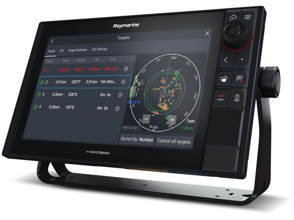 Raymarine Axiom Pro with Quantum