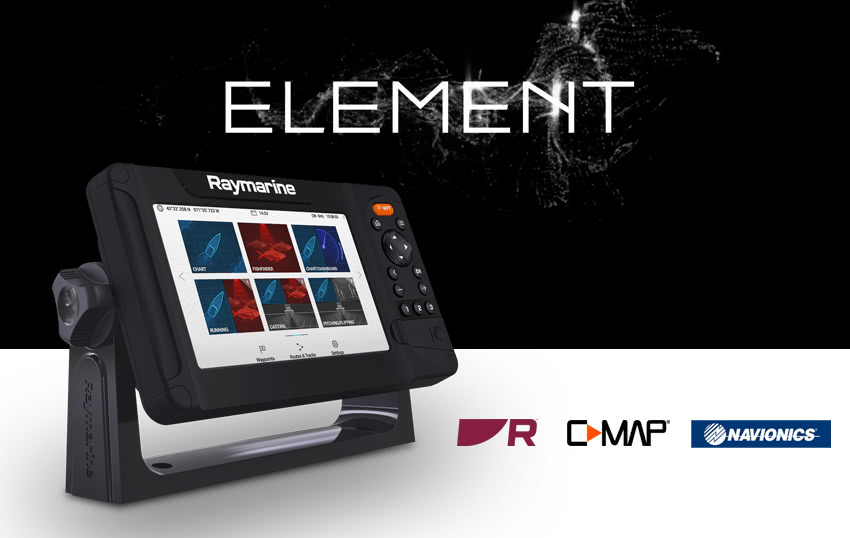 Element 7 / with HyperVision Chirp sonar without transducer buy now | SVB  Yacht and boat equipment