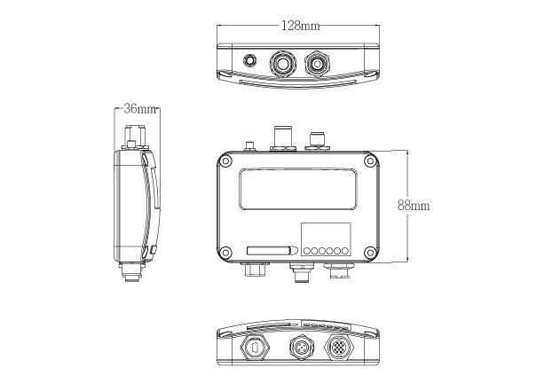AMEC CAMINO-108W AIS Transponder with WiFi / GPS patch