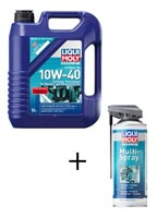 4T Motoröl 10W-40 + Multi Spray GRATIS