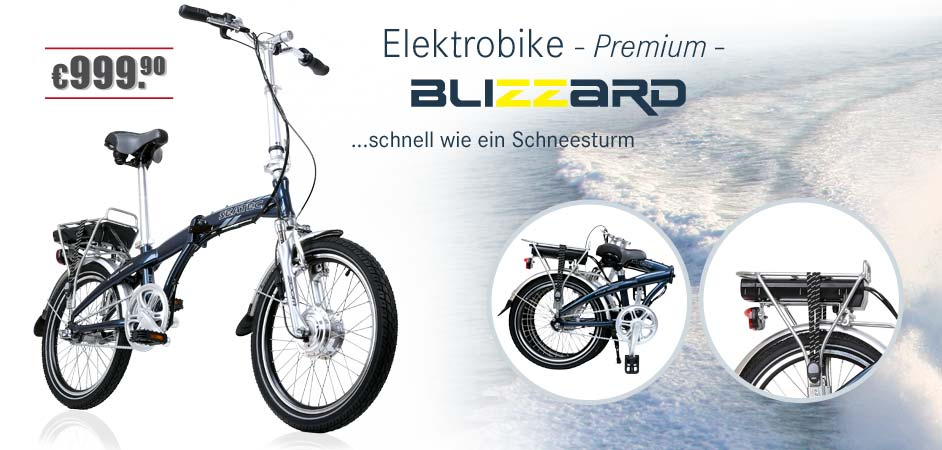 Seatec E-Bike Blizzard
