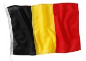 Länderflagge / Gastlandflagge Belgien