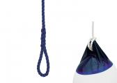 Fenderleine marineblau / 1,9 m / 10 mm / 2 Stück