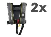 Rettungsweste XD 220 / anthrazit / 2er Set